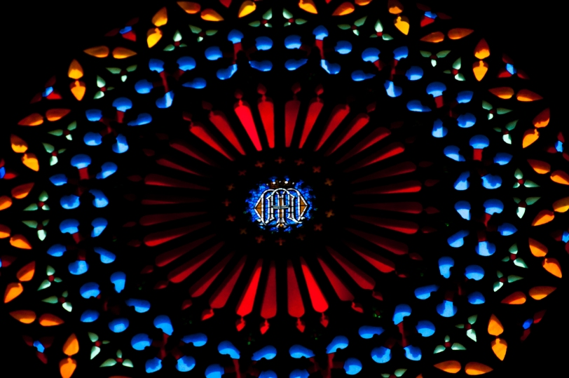 Cathedral's rose window