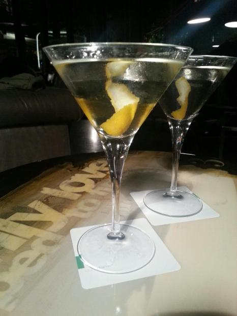 Vesper Martini. Photo by M